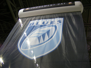 Cardiff Blues Banner Courtesy http://www.flickr.com/photos/fromthevalleys-/8866379313/sizes/m/in/photostream/