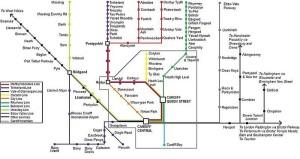 Cardiff Train routes