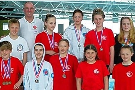 Barnstaple Swimming success at Cardiff International Pool