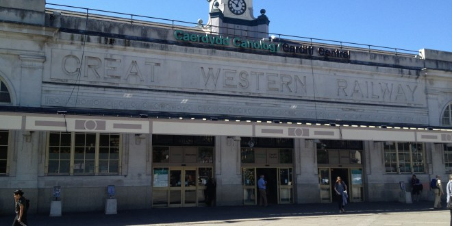 Cardiff train Stations- Cardiff Central
