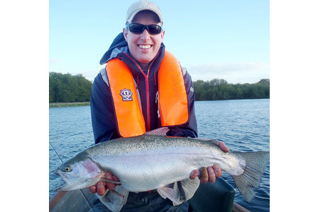 Rainbow trout monster at Chew