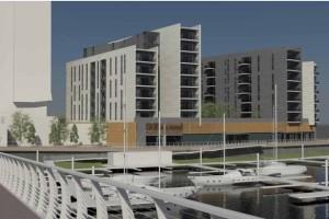 Cardiff Bay waterfront development