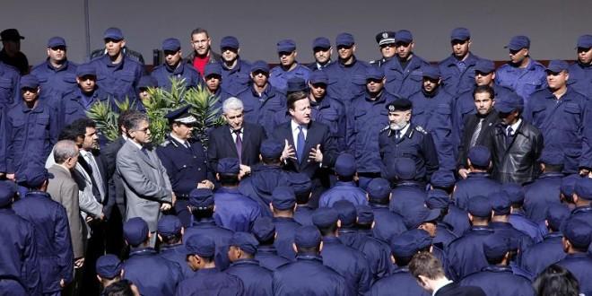 Libyan police