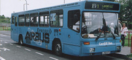 Cardiff airport bus