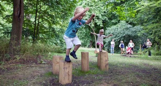 Balance trail bute park