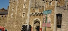 Cardiff Castle front entrance