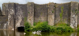 Caerphilly Castle - Metal Octopus