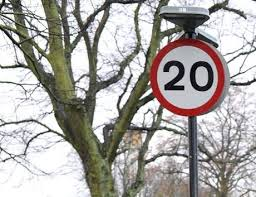 20 mph limit