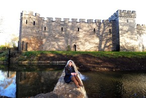 Historic Cardiff Castle moat reflooded following major restoration works