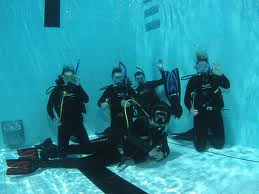 SCUBA diving in Cardiff