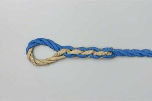 Splicing ropes Cardiff Bay