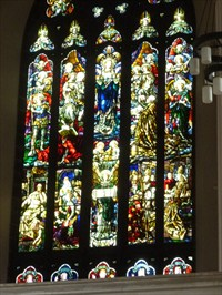 Stained glass windows -St Davids Cathederal