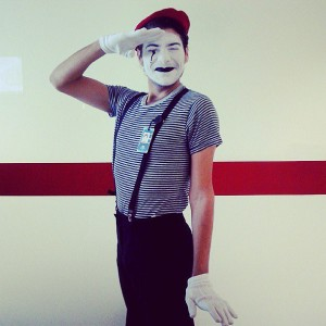 Halloween costumes - Mime