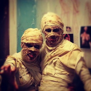 Halloween costumes - Mummy