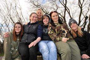 Womens carp fishing