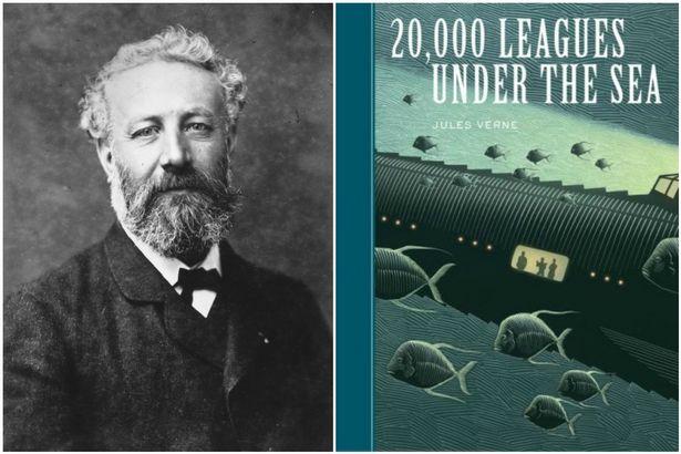 Cardiff author Jules Verne