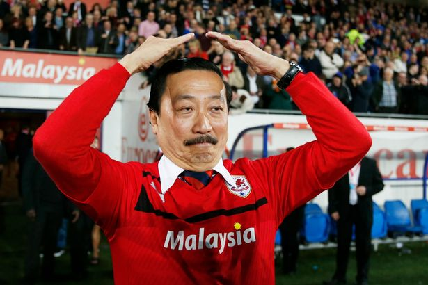 Vincent Tan-Cardiff city