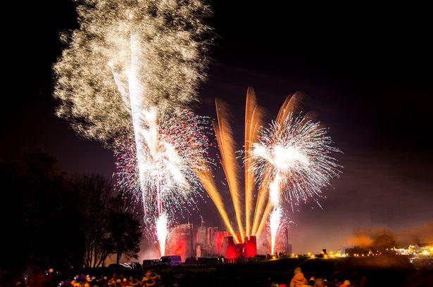 Bonfire Walks - Fireworks in Cardiff