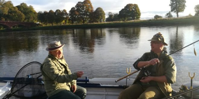 Paul Whitehouse and Bob Mortimer fish River Tay